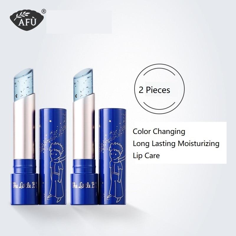 AFU Little Prince Lip Balm Set Color Changing Moisturizer Care Long Lasting Moisturizing Hygienic Lipstick Lip Gloss Base