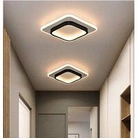 LICAN современные светодиодные потолочные лампы для спальни прикроватные проходы коридор балкон вход современный светодиодный потолочный с...