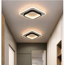 LICAN современные светодиодные потолочные лампы для спальни, прикроватного прохода, коридора, балкона, вход, современный светодиодный потоло...