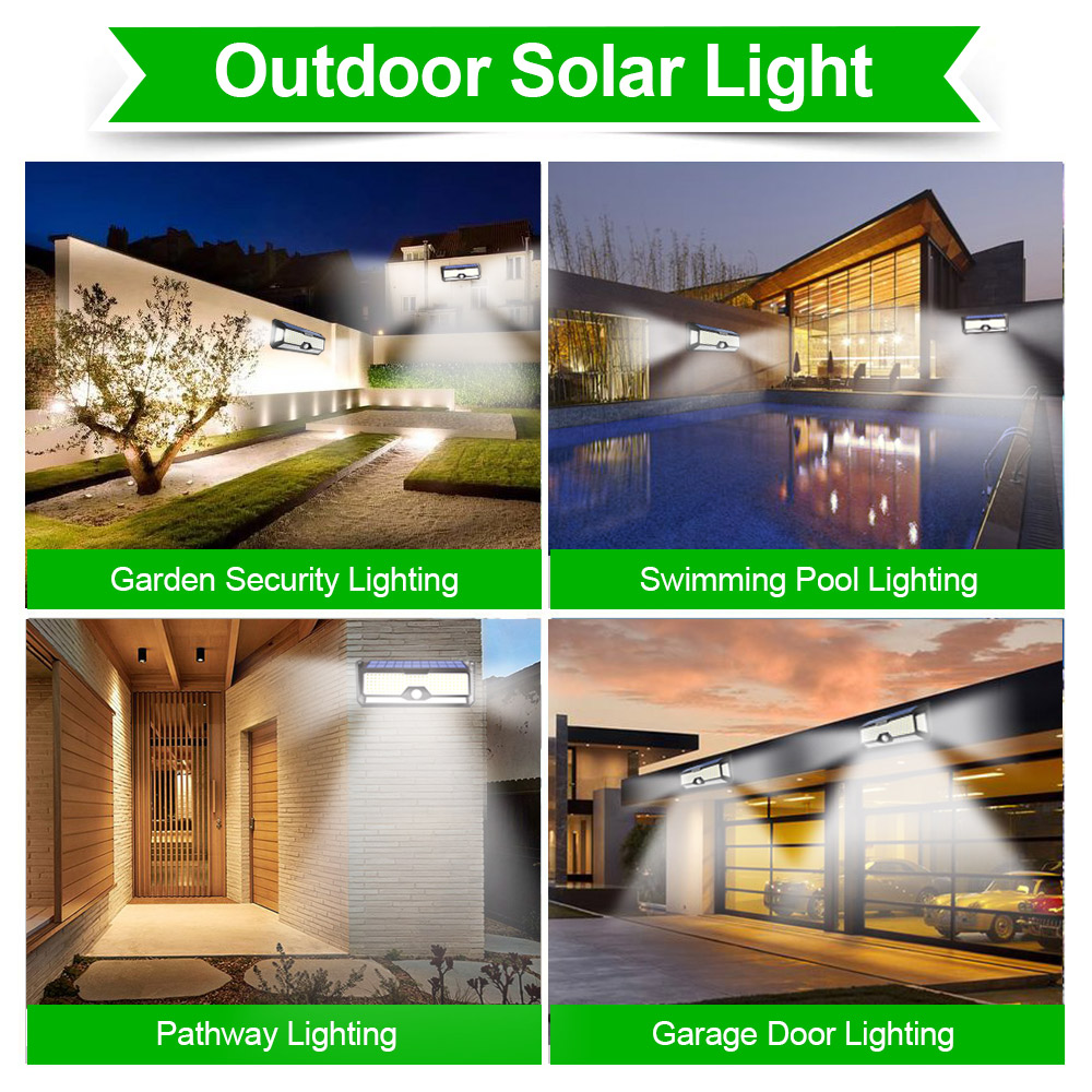 do jardim de energia solar sensor movimento 03