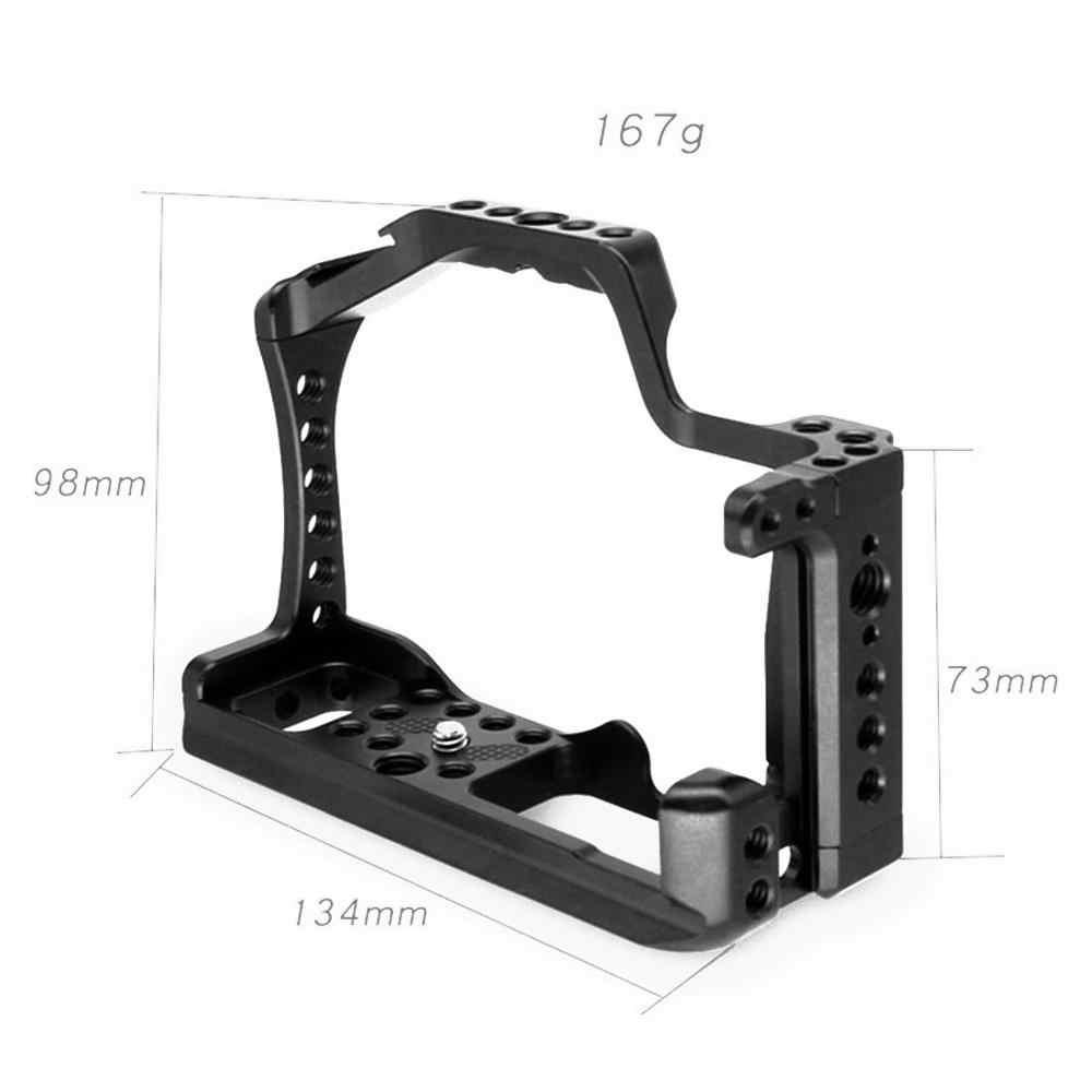 Bgning Fotografi Kamera Kandang Pelindung Kamera DSLR Rig untuk UNTUK Sony A6500/A6400 untuk Canon EOS M50 untuk XT-2 XT3 SLR Kamera