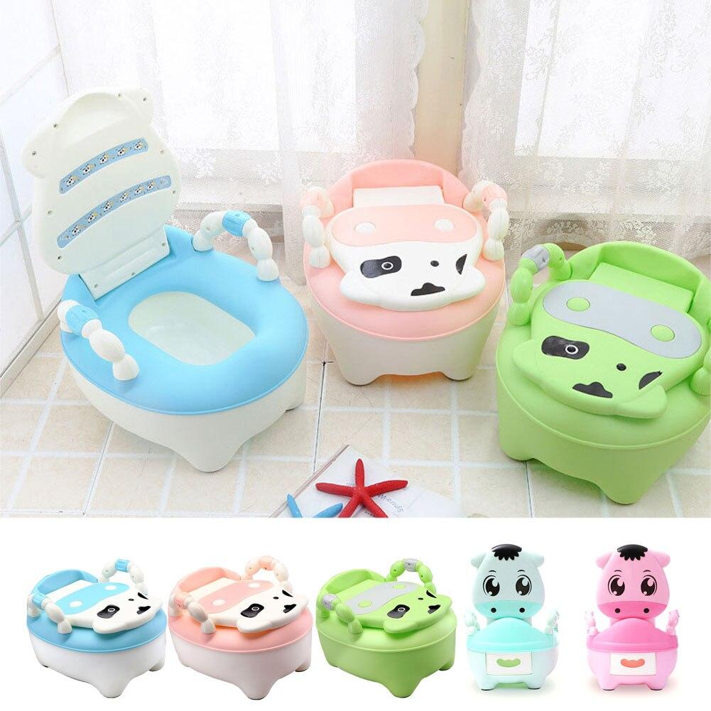 Children Baby Potty Training Cows Boy Girl Portable Toilet Seat Infant Potty Toilet Pot Hot Sale