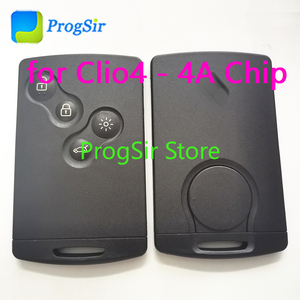 Image 1 - Control remoto de proximidad sin llave, 4 botones, 434MHz, para Renault Clio4 Captur con Chip PCF7938X 4A sin logotipo