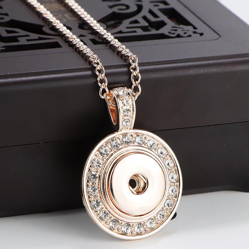 18mm Rhinestone Flowers Love Heart Snap Button fit Snap Button Bracelet necklace