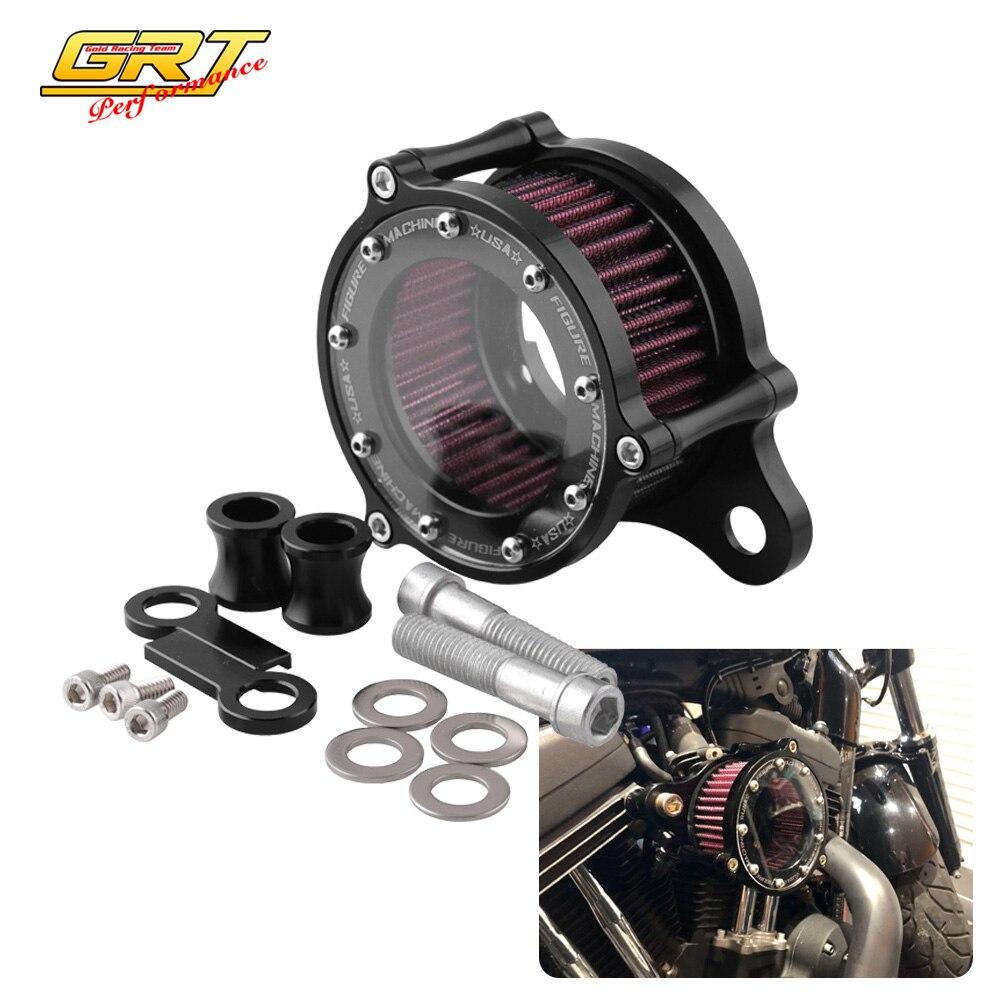 Air Cleaner Intake Filter For Harley Iron 883 Dark Hard Candy Custom XL883N US