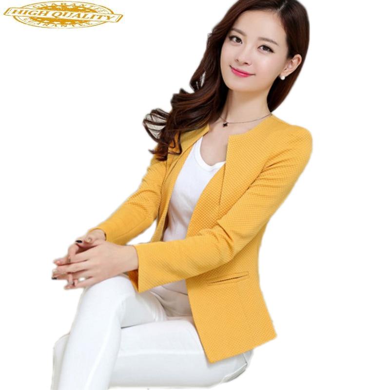 Blazer Feminino Coat Women Tops Plus Size Korean Style Blazers Mujer Woman Clothes 2020 Chaqueta Mujer KJ118
