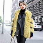 Natural Real Fur Coa...