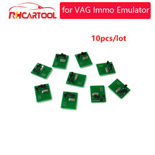 10 adet OBD2 VAG IMMO Emulator teşhis aracı VW için B5, Golf IV Beate (yeni) audi için A2 A3 A4 A6 TT Ecu Immobilizer