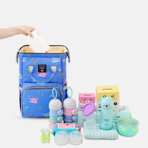Image 4 - MMloveBB Fashion Maternity Diaper bag For Baby Large Capacity Nappy Bag Travel Mommy Bag For Baby Care Backpack For Mom