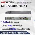 Hik 원래 영어 버전 8ch dvr DS 7208HUHI K1 아날로그 카메라에 대 한 ahd cvi tvi cvbs ip 8mp 보안 dvr|감시 비디오 리코더|   -