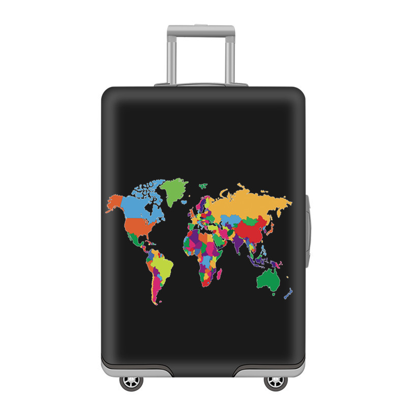 Thicker Elastic Travel Luggage Protective Cover Suitcase Case Travel Accessorie Trolley Baggage Case Cover Apply To 18-32 Inch