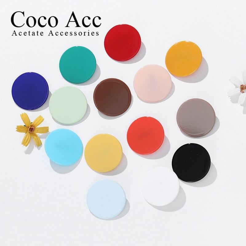 Kids Cute Candy Color Acrylic Alligator Hair Clips Girls Hair Grips Hairpin Barrette Multi Hair Accessaries Headwear