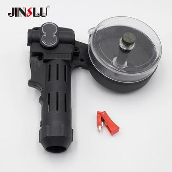 Plastic Handle Cover for MIG Spool Gun Push Pull Feeder Aluminum Steel Welding Torch 1 set new nylon body toothed roller free parts mig spool gun push pull feeder aluminum steel welding torch without cable