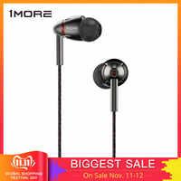 1MORE Quad drivers in-ear auriculares con micrófono 1 más quad E1010 HiFI auriculares de alta resolución Auriculares auriculares para Apple Android Xiaomi