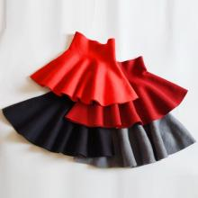 От 2 до 12 лет, детская одежда для малышей, школьная трикотажная юбка для девочек, детские юбки принцессы, детская одежда, JW6491