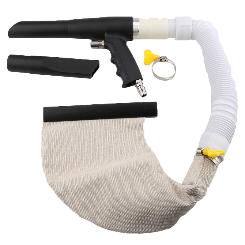 Multiple-use Air Vacuum Blow Gun Pneumatic Home Household Cleaning Kit