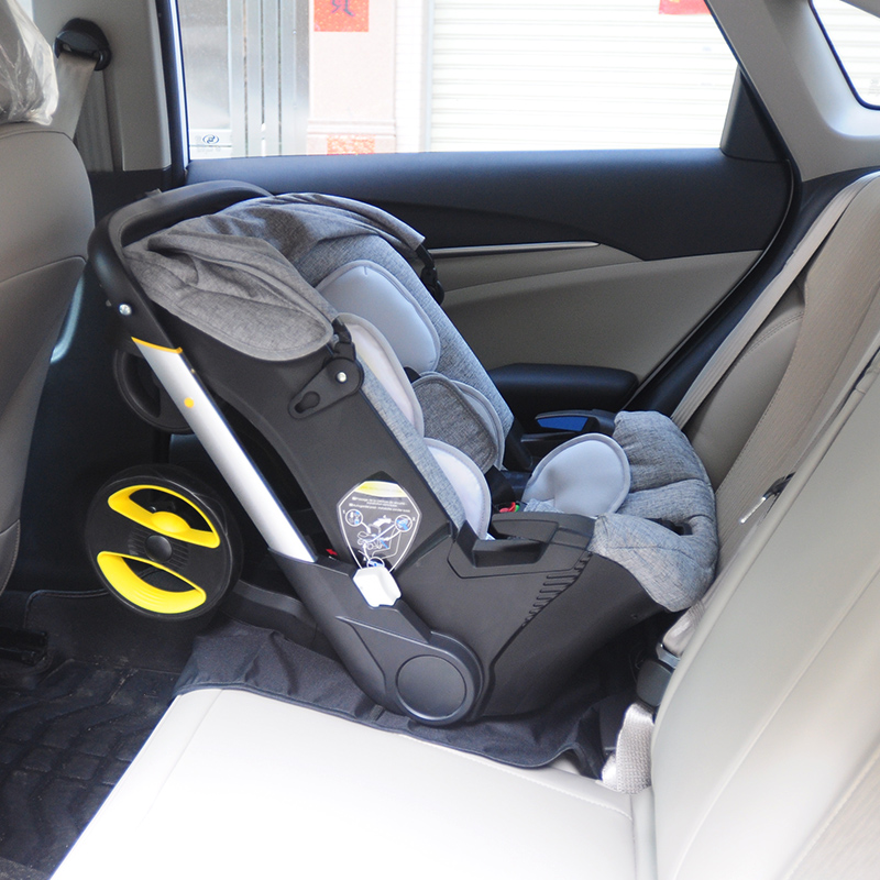 Portable 4 In 1 Newborn Baby Stroller Carriage Baby Car Safety Seat Infant Stroller Travel System Stroller