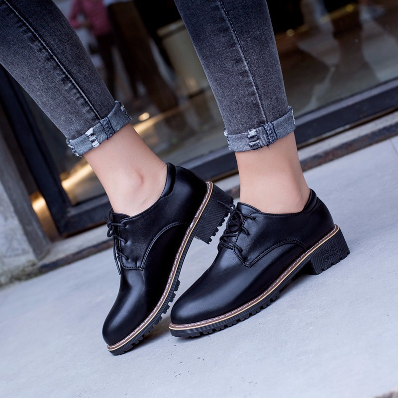 Women Oxfords Female Fashion Shoes Summer Shoes Girls Young People Shoes Female