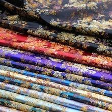 Brocade pattern jacquard garment fabrics for satin dresses designer sewing cheongsam and kimono DIY patchwork material