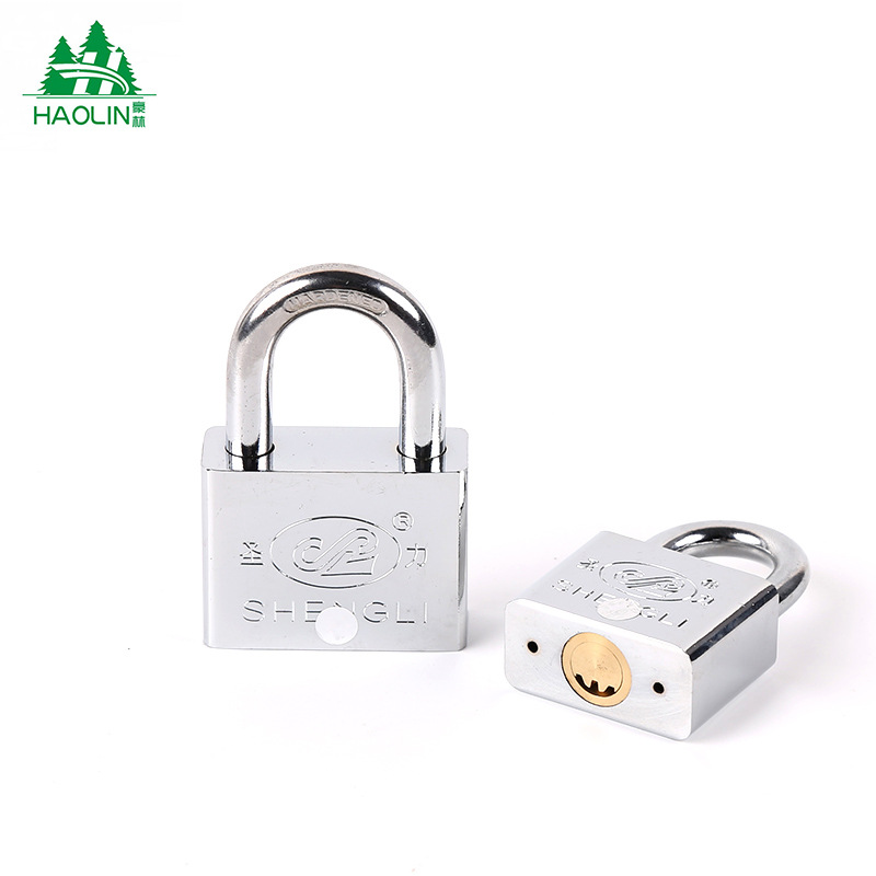 [Manufacturers Direct Selling] Electroplated Lock Head Waterproof Copper Cylinder Bao Liang Suo Household Anti-Theft Padlock Ato