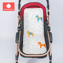 cotton newbor baby stroller pad seat soft infant strollers diaper cushion mat pram accessories