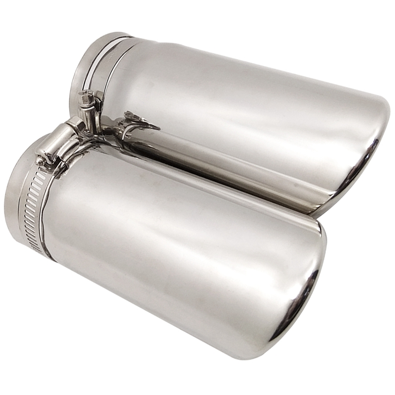Car Van Stainless Steel Exhaust Tip Muffler Replacement Tail Pipe 30mm-50mm
