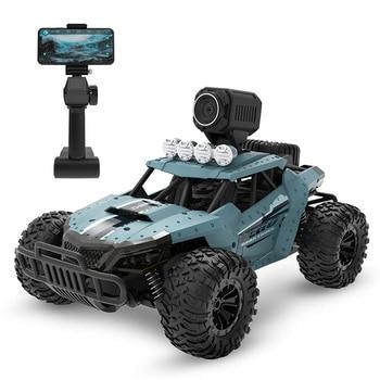 Fernbedienung Auto mit 720P HD FPV Kamera, 1/16 Skala Off-Road RC Lkw, hohe Geschwindigkeit Monster Lkw für Kinder Erwachsene