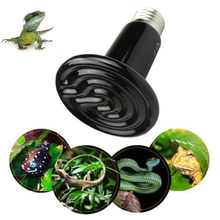 Reptile-Lamp Chickens Heat-Light-Bulb Black Emitter Pet-Brooder Ceramic Infrared Mini