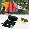 Acexpnm polarizado mountain bike ciclismo óculos de ciclismo esportes ao ar livre óculos uv400 4 lente ciclismo óculos de sol das mulheres dos homens 20