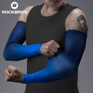 ROCKBROS Cycling Arm Sleeves Sun Protect