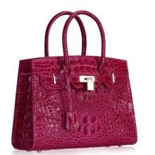 Krokodil Paket Frau Einzelnen Schulter Echtem Leder Messenger crossbody damen hand designer luxus frauen handtasche strand tasche