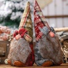 Santa Claus Doll Christmas Decorations Ornaments Gift Toy Christmas Tree Decorations For Home Enfeites De Na ZA рождественские украшения christmas stocking 7 enfeites