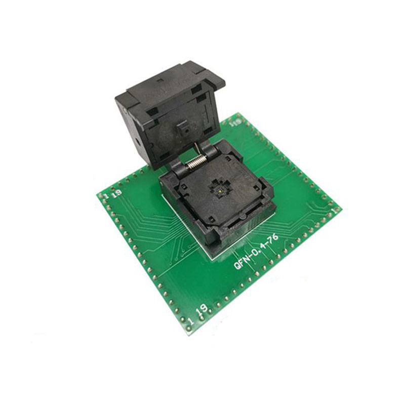 QFN20 MLF20 WLCSP20 to DIP20 Programming Socket Adapter Pin Pitch 0.4mm IC Body Size 3*3 Test Socket ZIF adapter