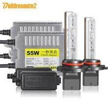 Buildreamen2 H1 H7 Auto Scheinwerfer HID Xenon Licht Kit AC Ballast Birne 55W H3 H8 H11 9005 9006 3000 k 10000 K 12V Scheinwerfer Nebel Licht