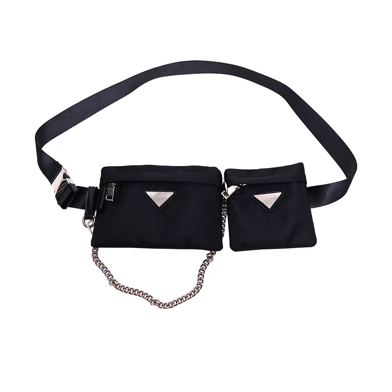 Luxury Brand Waist Bag Belt Men Fanny Packs Women Streetwear Chains Chest Bag High Quality Chest Belt Handbag Waist Packs 2019
