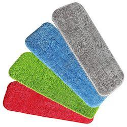 4 sztuk mop do czyszczenia dla Vorfreude mop z natryskiem i wszystkie mop z natryskiem s i nadająca się do prania mopy w Mopy od Dom i ogród na