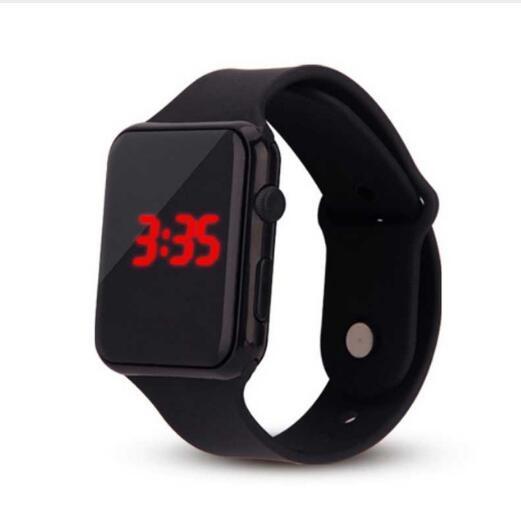 Apple Watch Band Apple Watch 4  Digital Wristwatches GIft  Relogio Masculino часы мужски Erkek Kol Saati  Sport Watch LED Watch