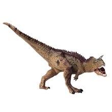 Промо-акция! Имитация карнотавра Плотоядный динозавр статическая модель динозавра игрушка Оверлорд карнотавр твердая пластиковая модель Realis