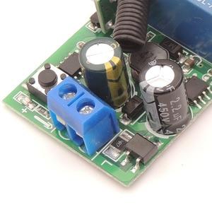 Image 5 - 433MHz العالمي لاسلكي للتحكم عن بعد التبديل التيار المتناوب 85 فولت 250 فولت 3 العصابات rf وحدة الاستقبال التتابع مع جهاز إرسال بسلسلة مفتاح للضوء