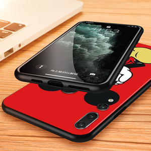 Image 4 - Silicone Cover Disney Cute Mickey Mouse For Huawei Honor 9 X 9N 8S 8C 8X 8 A V9 7S 7A 7C Pro lite Prime Play 3E Phone Case