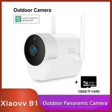 Youpin Xiaovv B1 1080P Outdoor Panoramic Camera Surveillance Camera Wireless WIFI High-definition Night vision Mijia app