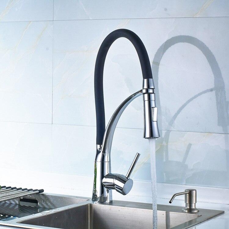 H303d13cf9be84e2f813a419ae983f2e6J 1PC 360°rotating Flexible Faucet High-quality Bathroom Kitchen Faucet Extender Mixer Tap Bath Sink Faucet Shower Head Spray HWC