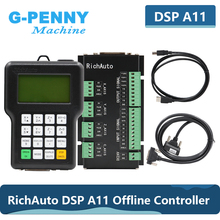 Free Shipping RichAuto DSP A11 CNC controller original 3 axis motion controller A11E English Version For CNC router machine