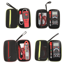 Multimeter-Bag Hard-Case Shockproof Digital Mesh-Pocket Black with for Protecting Storage