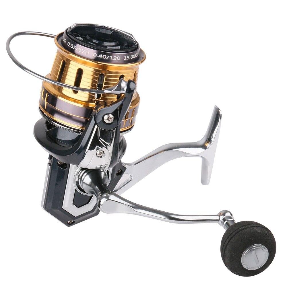 Новая Металлическая Рыболовная катушка Far Throw 500 8000 10000 12000 серия 5 + 1 BB Фидер Карп пресноводный резервуар приманка спиннинг рыболовное колесо|Рыболовные катушки|   | АлиЭкспресс
