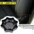 Для Audi A1 A6 C5 A4 B6 SEAT Cordoba Ibiza 6L Leon Arosa Toledo регулировка сиденья черная ручка 1J0881671F регулятор ручка кресла