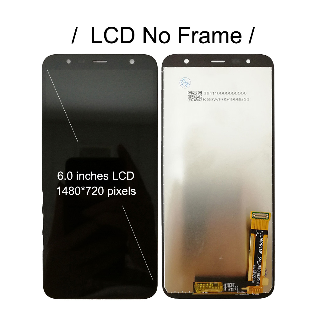 Image 2 - LCD With Frame For Samsung Galaxy J4+ SM J415F/DS J415FN J415GN Display Screen Touch Digitizer Assembly J4 Plus 2018 J4plus LCDMobile Phone LCD Screens   -
