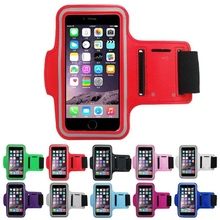 Sports Arm Band Belt Cover Key Pouch Elastic Gym Running Armband Case For Apple iphone 6 6s Plus 5.5 inch Protective Phone Bag rotatable running bag phone arm case waterproof armband sport wrist bag belt key holder pouch for samsung iphone 8 x 4 6 inch