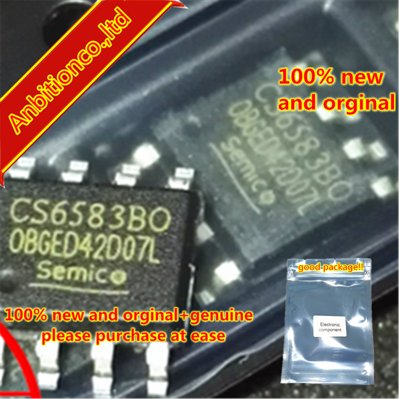 5pcs 100% New Original CS6583BO CS6583B0 CS6583 SOP8  Driver IC Chip