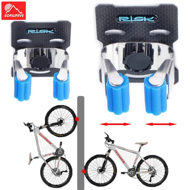 bike rack garage wall mount bike hanger storage rack vertical horizontal Stand bicycle wall holder clamp hook for indoor Shed|Bicycle Rack| |  - title=